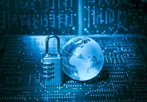 concept de la sécurité sur internet