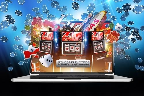 illustration de plusieurs jeux de casino en 3d