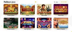 ludotheque jeux machance casino