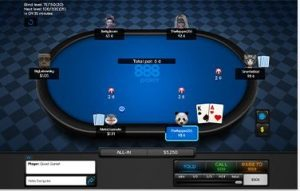 table en ligne de poker 888