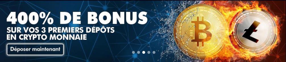bonus crypto monnaie