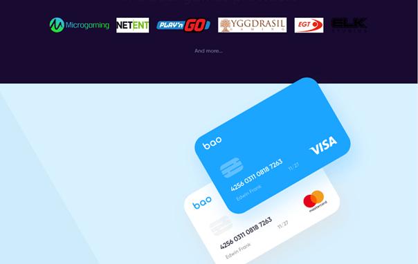 paiements sécurisés sur Bao Casino