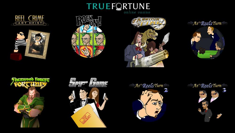 jeux mobiles du casino True Fortune