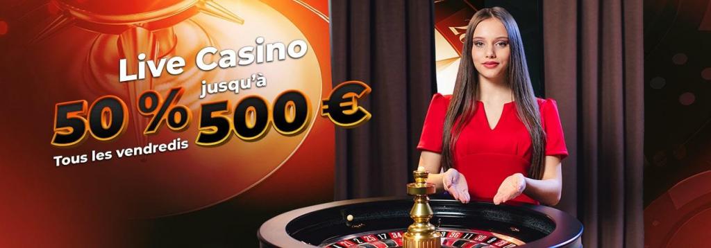 live casino les vendredis sur Jack 21
