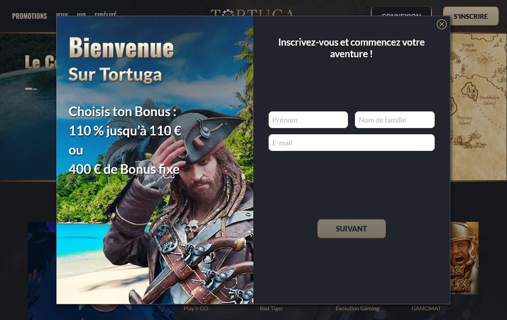Bienvenue sur Tortuga