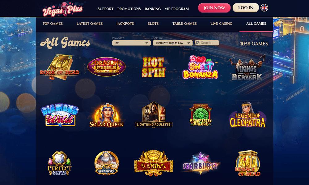 Jeux Casino VegasPlus