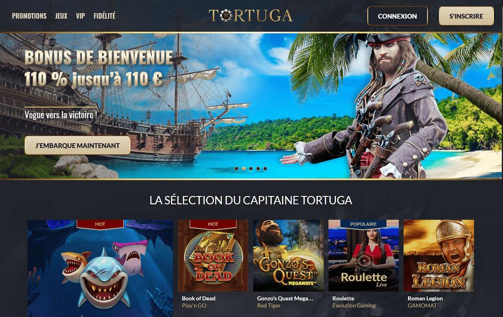 La selection du capitaine tortuga