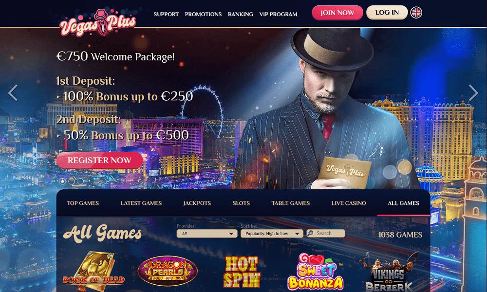 Package de bienvenue VegasPlus