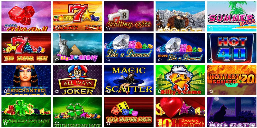 logiciels de jeux présents sur Casinobtc.bet