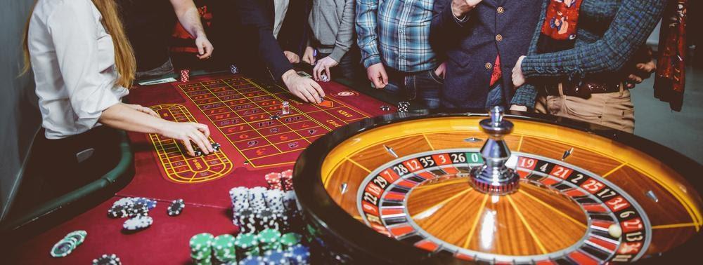 roulette dans un casino terrestre