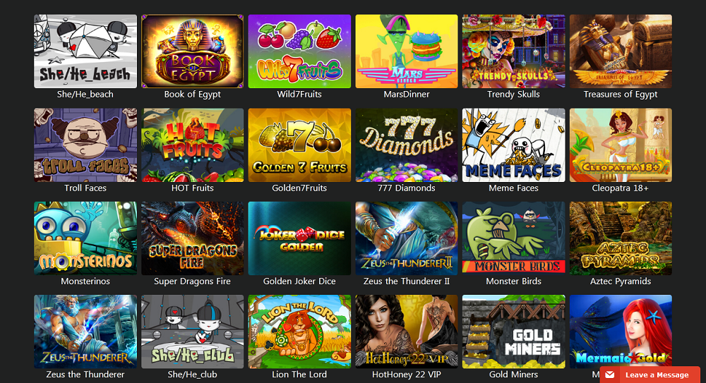 jeux de Win Monaco en mobile