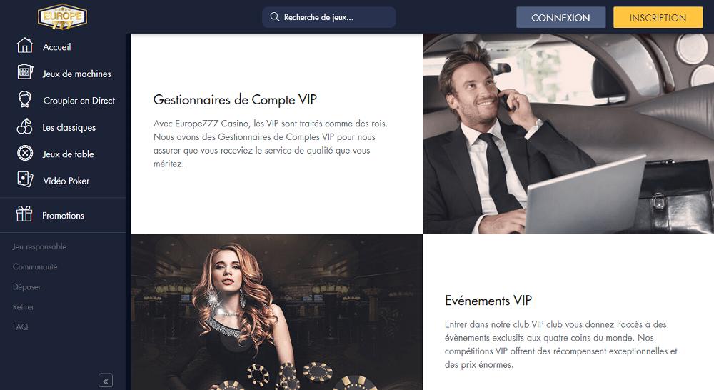 VIP europe777 casino
