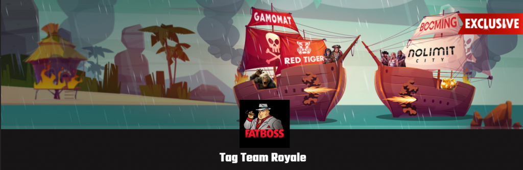 FatBoss Casino promotion Tag Team Royale