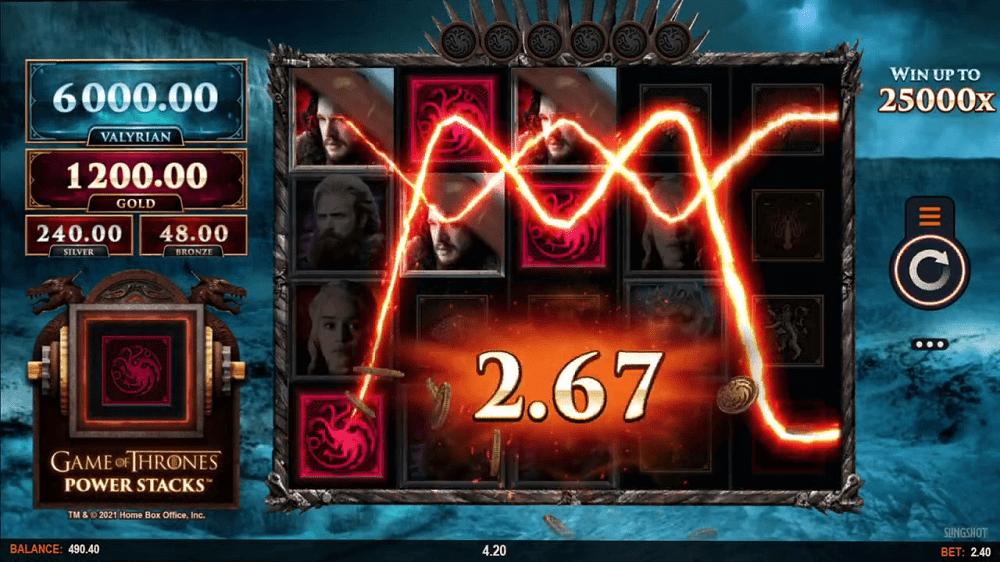 Game of Thrones petite mise minimale