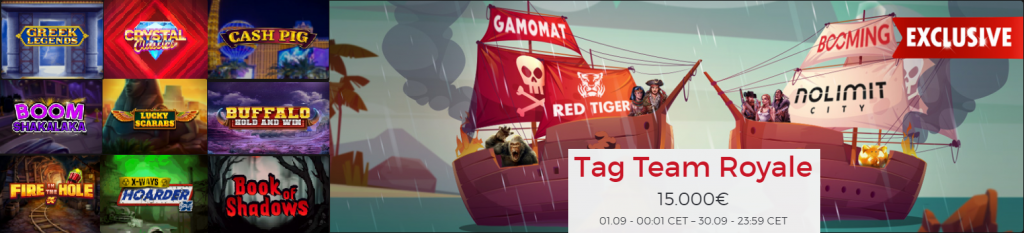 Promotion Tag Team Royale termes et conditions